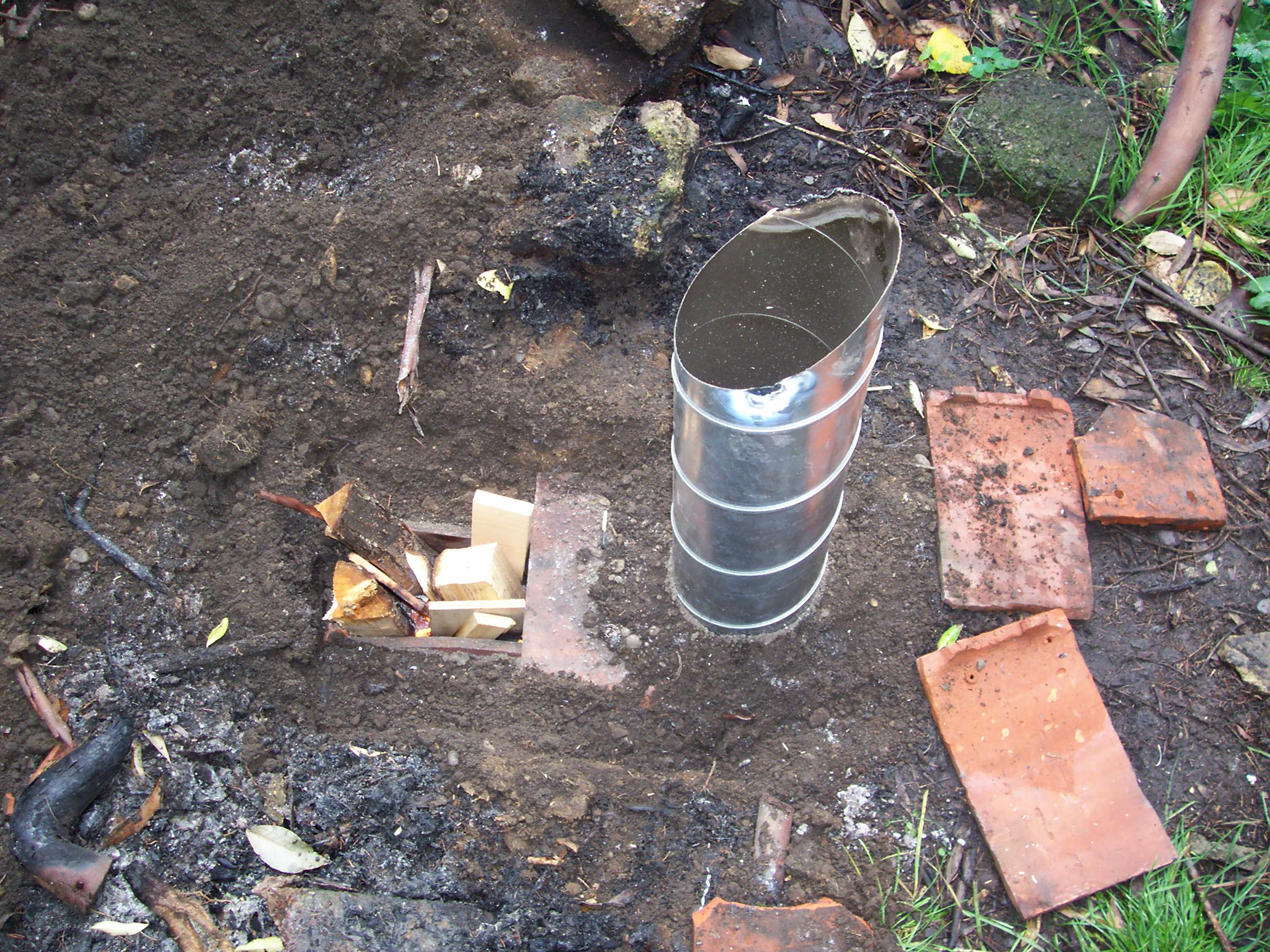 Hooters Hall Blog Archive Rocket Stove Experiment Another Diagram Build Pinterest The