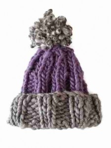 FREE CHUNKY BOBBLE HAT KNITTING PATTERNS   KNITTING PATTERN